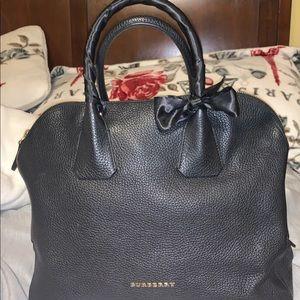 Black Burberry bag